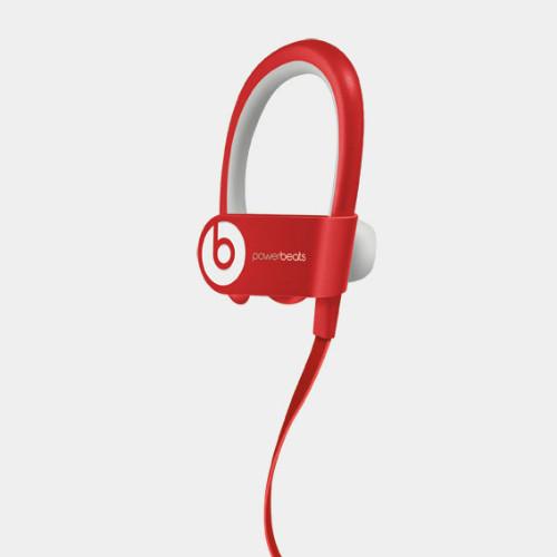 Beats PowerBeats2 Red | Angled