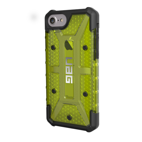 UAG Plasma iPhone 7 Case - Citron | Left