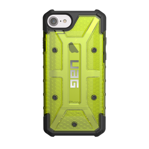 UAG Plasma iPhone 7 Case - Citron | Back