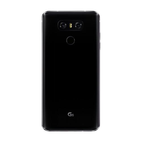 LG G6   Black   Back