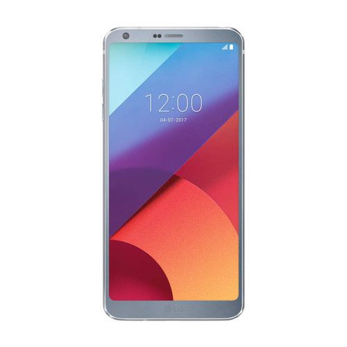 LG G6   Platinum   Front