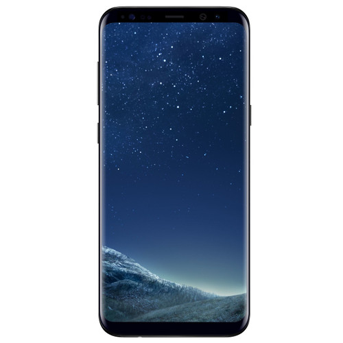 Samsung Galaxy S8+   Midnight Black   Front