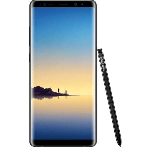 Samsung Galaxy Note8 | Midnight Black | Front