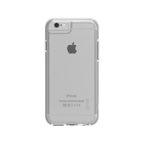 iPhone 6 Plus/6S Plus Gear4 D3O Space Grey IceBox case | Back
