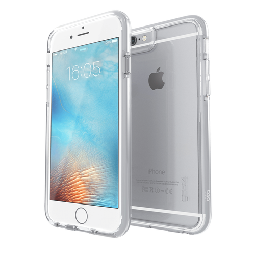 iPhone 6 Plus/6S Plus Gear4 D3O Space Grey IceBox case | Front and Back