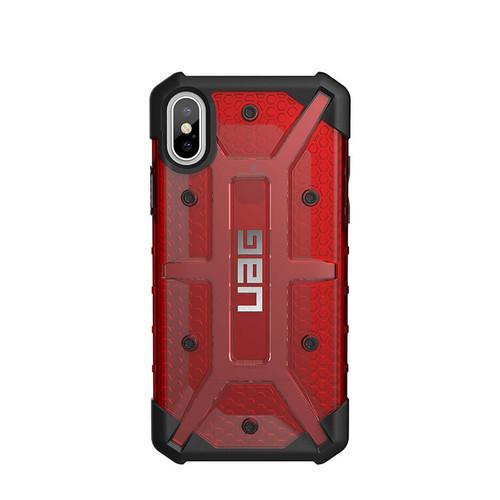 UAG Plasma iPhone X  Case | Magma | Back