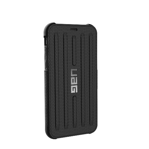 UAG Metropolis iPhone X Case | Black | Back