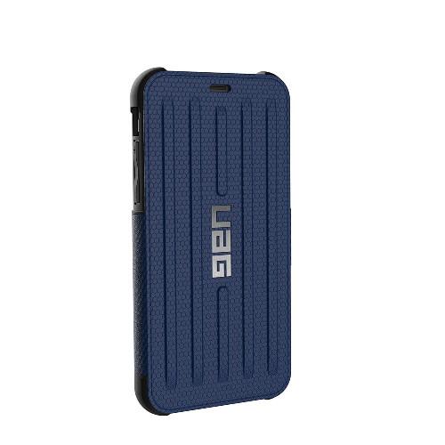 UAG Metropolis iPhone X Case | Cobalt Silver | Back