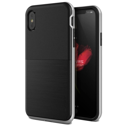 VRS Design High Pro Shield iPhone X | Satin Silver
