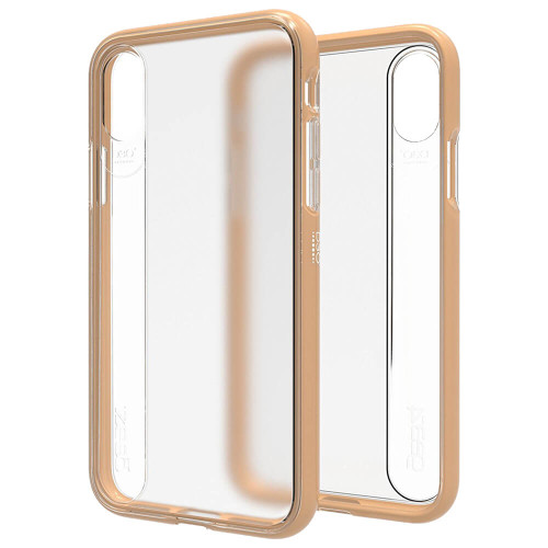 Gear4 Windsor | Gold | iPhone X | Front and Back
