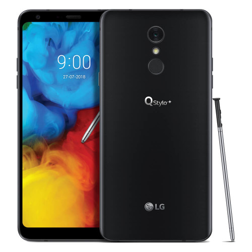 LG Q Stylo+ | Front and Back