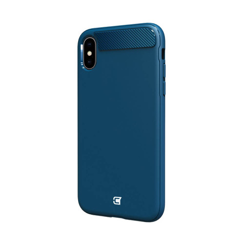 Caseco iPhone XS Max Skin Shield Case - Navy Blue
