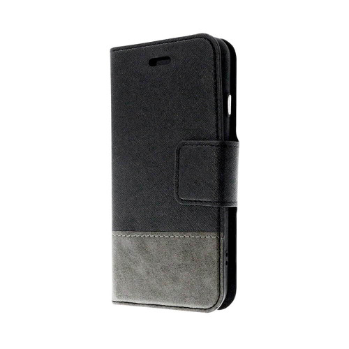 Broadway 2-in-1 RFID Shield Folio Case iPhone XS Max | Black | Front