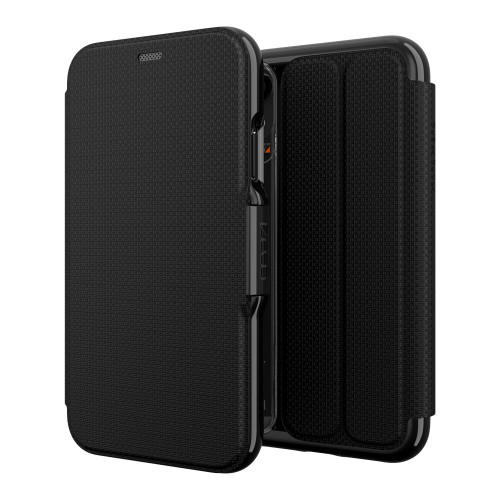Gear4 D3O Black Oxford Case iPhone XR   Front and Back