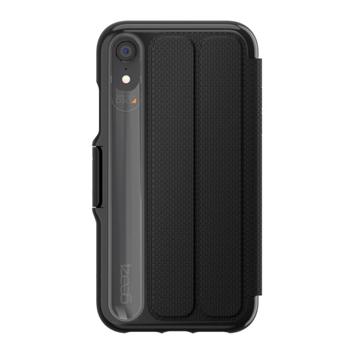 Gear4 D3O Black Oxford Case iPhone XR   Back