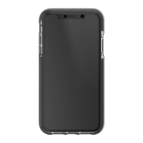 iPhone XR Gear4 D3O Black Piccadilly Case | Front