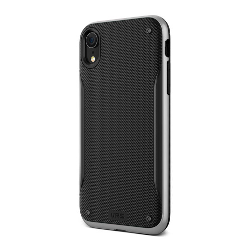 VRS Design High Pro Shield iPhone XR | Silver | Back