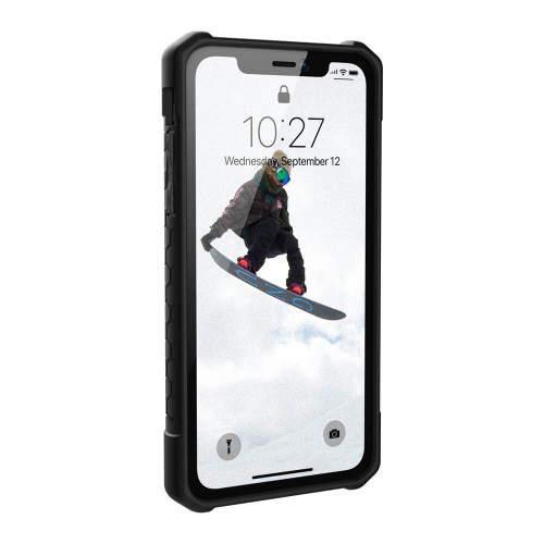 iPhone XR UAG Monarch Red and Black Case | Front