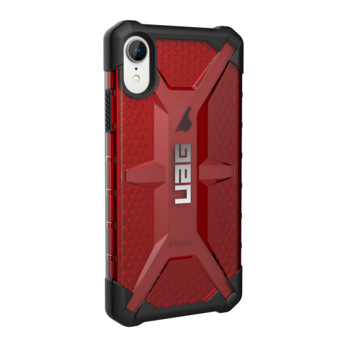 UAG Plasma iPhone XR Case | Magma | Back