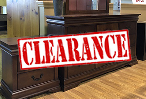 Clearance and Floor Samples