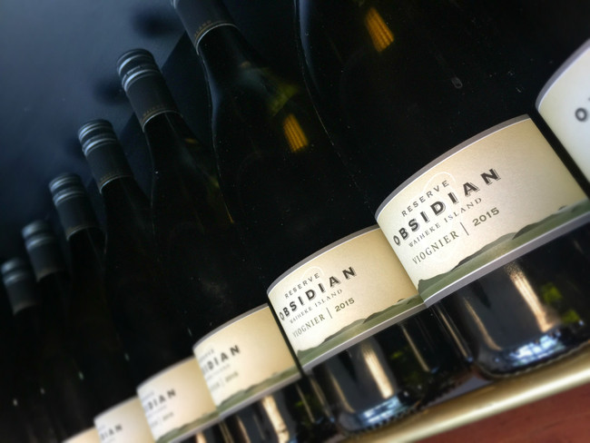 Obsidian Reserve Viognier 2015: Wine of the Month, March 2018