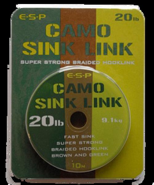 E-S-P Camo Sinklink - 25lb