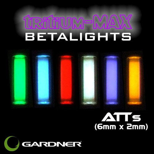 Gardner ATT's Tritium-Max Beta Lights 6mm x 2mm