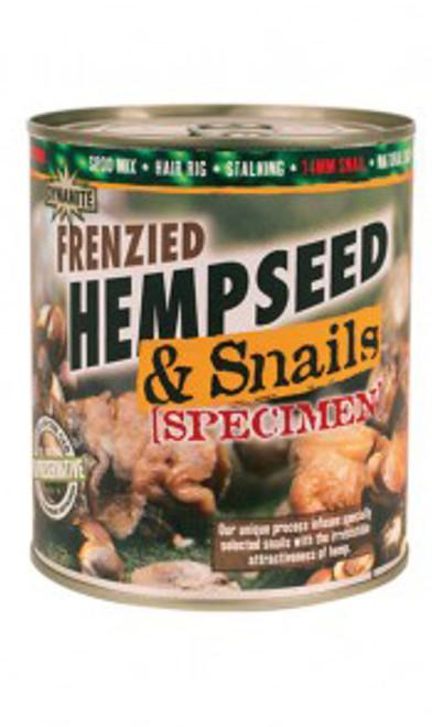 Dynamite Baits Frenzied Hempseed and Snails Specimen 700gm