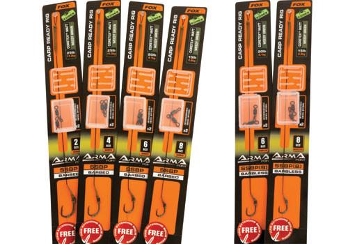 Fox EDGES™ ArmaPoint SSBP Carp Rig Kits