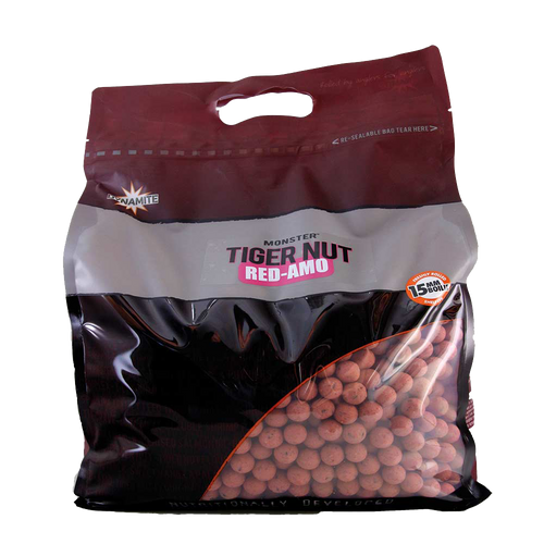 Dynamite Baits 15mm Monster Tigernut Red-Amo Boilies 5Kg