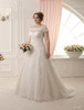 Plus Size Wedding Dress with lace