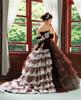 Brown Wedding Dress