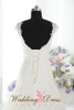 Lace A-Line Wedding Dress with Lace Straps