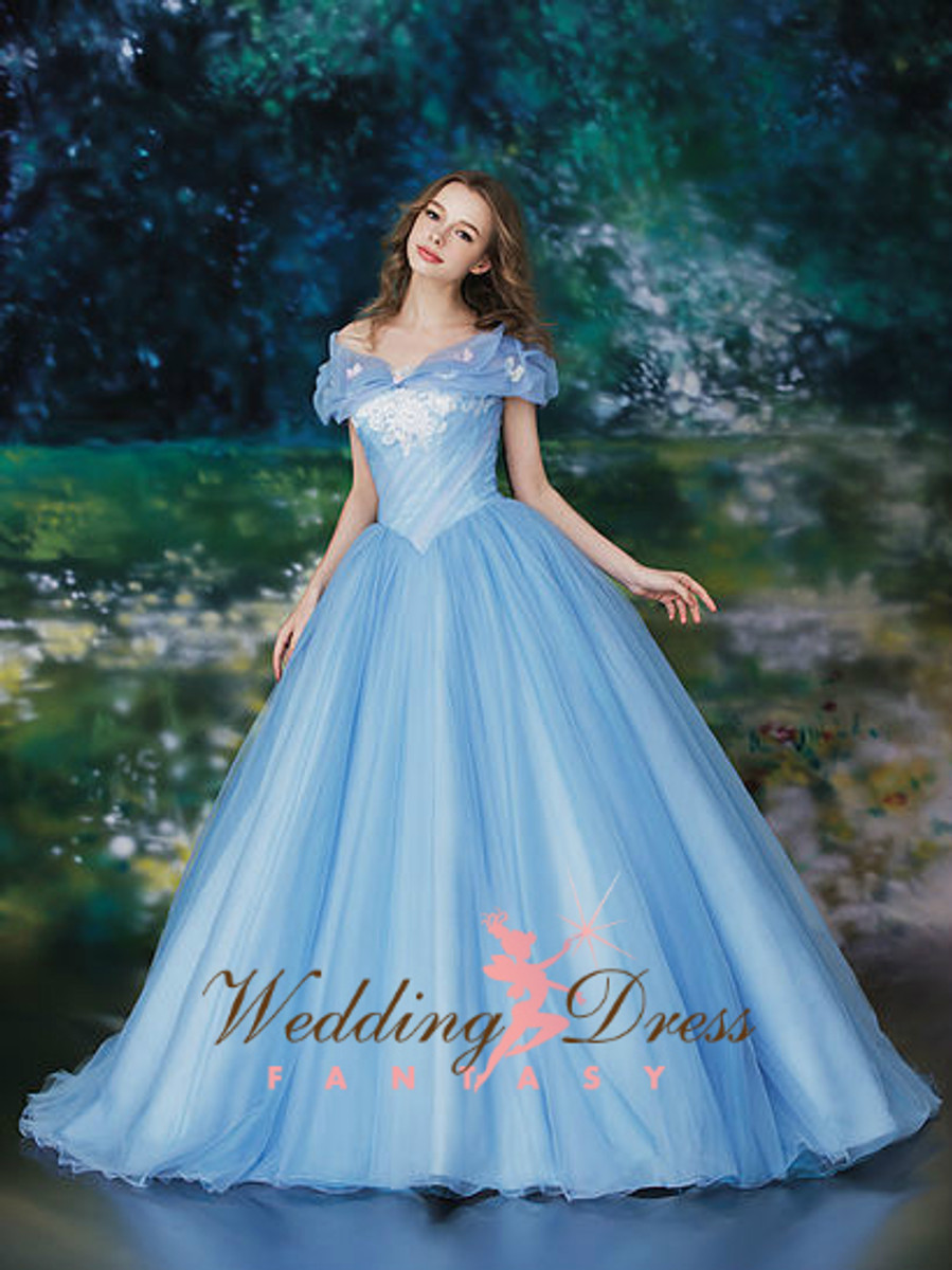 Cinderella Inspired Wedding Dress - Wedding Dress Fantasy