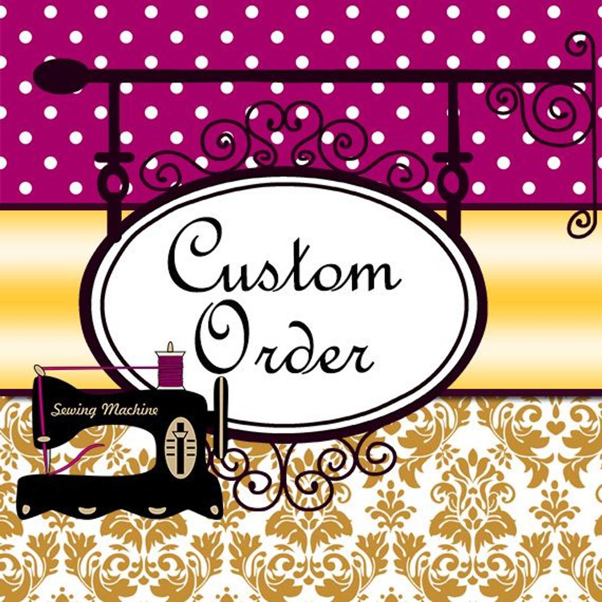 Custom Wedding Dress for OrienW