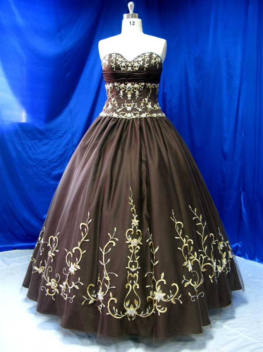 Black Taffeta Wedding Dress - Available in Every Color