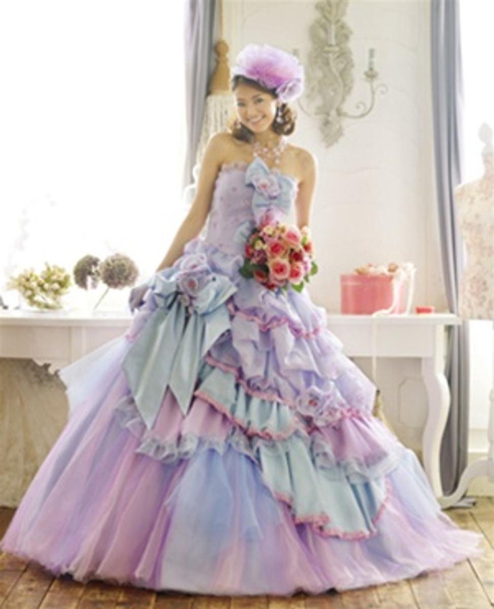 Lavender wedding dress lavender bridal gown lavender wedding gown lavender wedding dress junglespirit Gallery