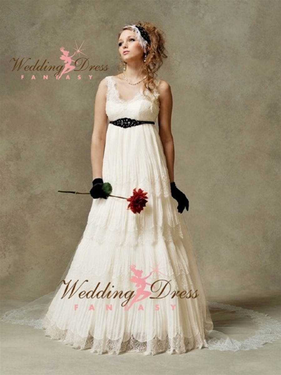 Sienna Vintage Inspired Couture Wedding Dress - Available in Every Color