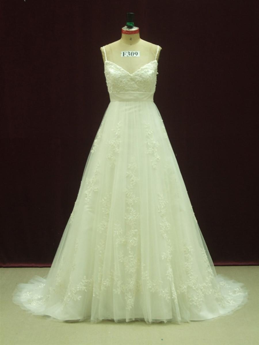 designer inspired wedding dress, designer inspired bridal gown ...