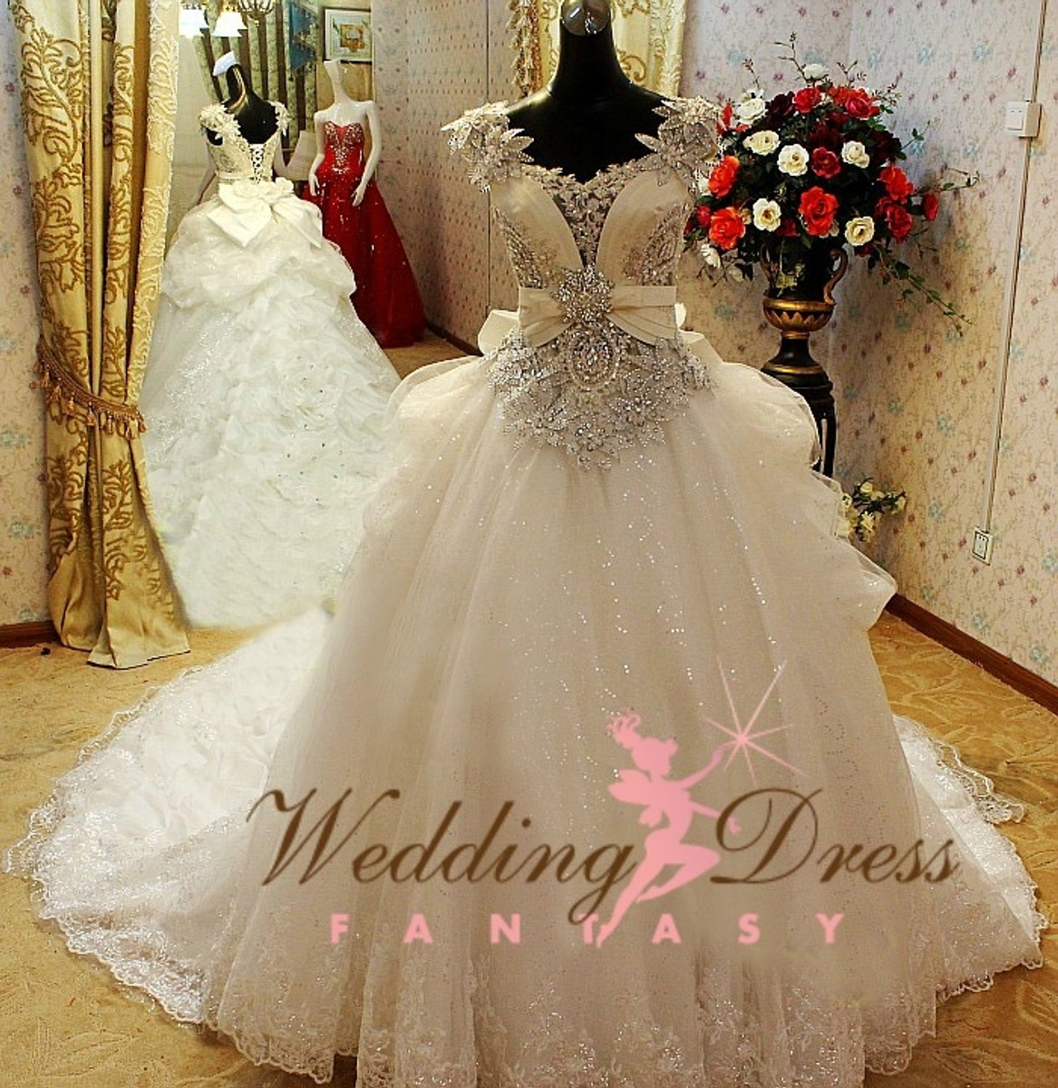 Gypsy Wedding Dress and Irish Traveller Wedding Dress