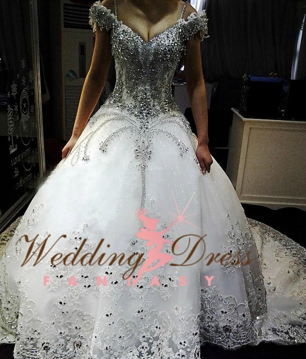Gypsy wedding gown