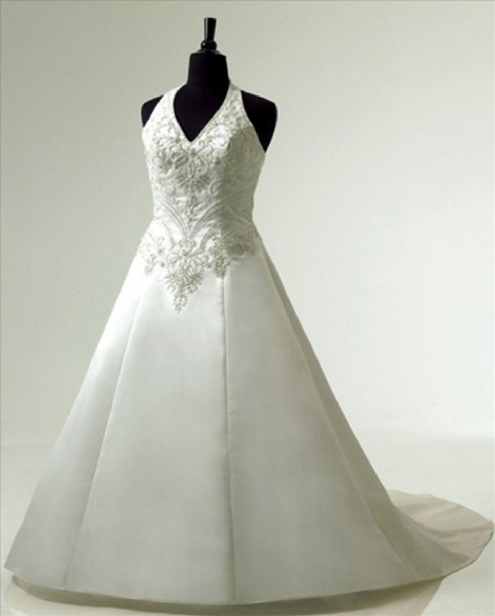 Plus Size Wedding Dresses With Color: Plus Size Wedding Dress