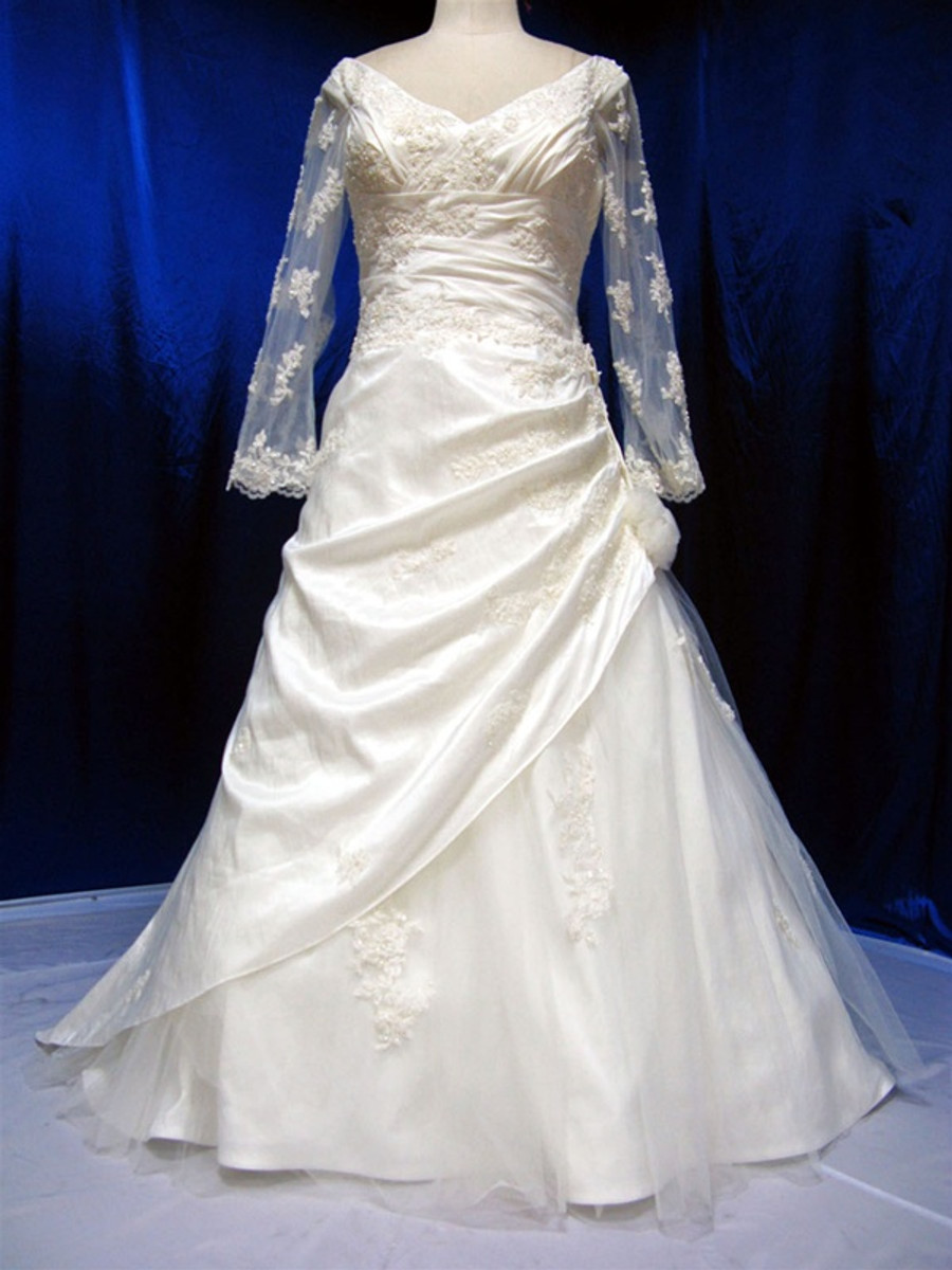 Plus Size Wedding Dress - Available in Every Color 32
