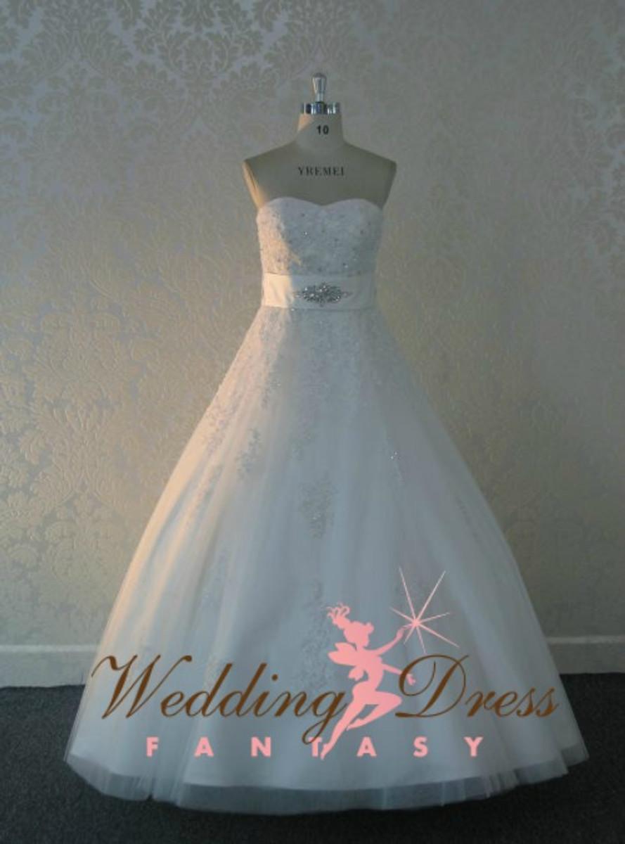 Romantic Aline Lace Wedding Dress With Sweetheart Neckline Wedding