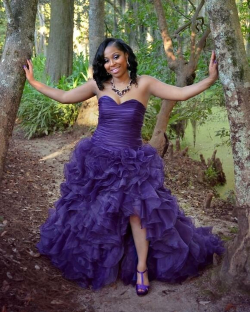 Purple wedding dresses junglespirit