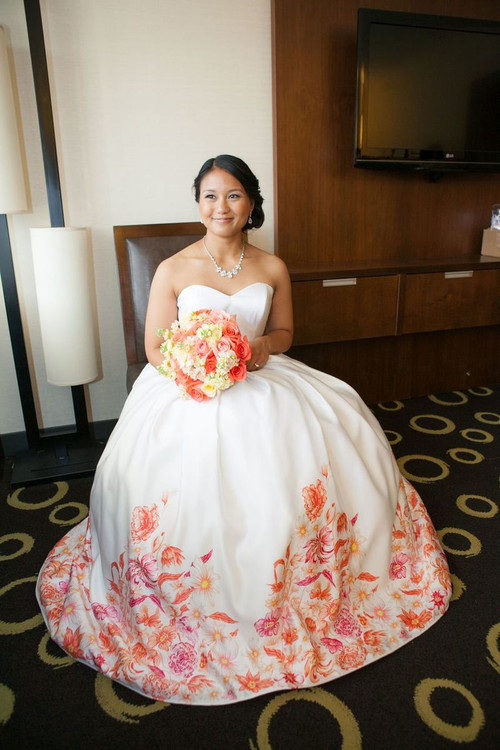 Colorful Wedding Dresses