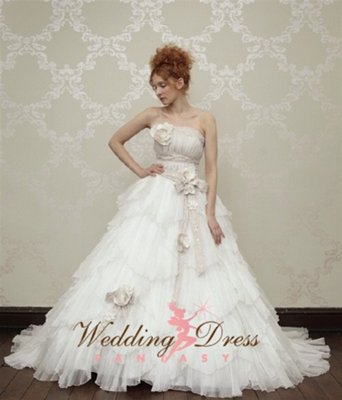 Lorelei Romantic Couture Wedding Dress - Available in Every Color