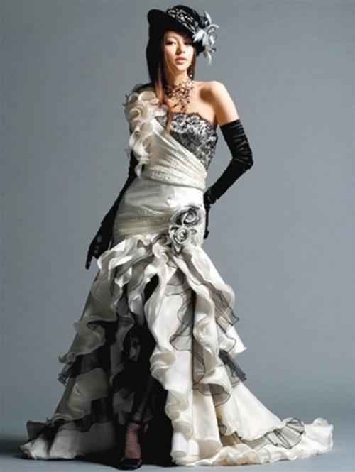 Gothic Steampunk Wedding Dress