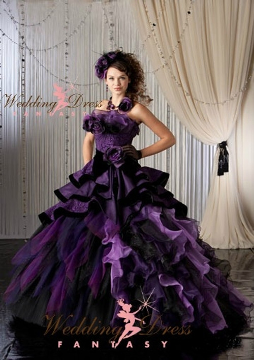 Purple wedding dresses purple bridal gown available in every color junglespirit