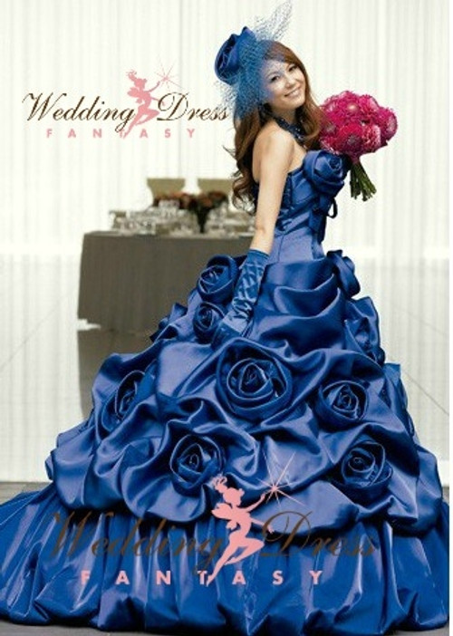 Royal Blue Wedding Dress Available in Every Color